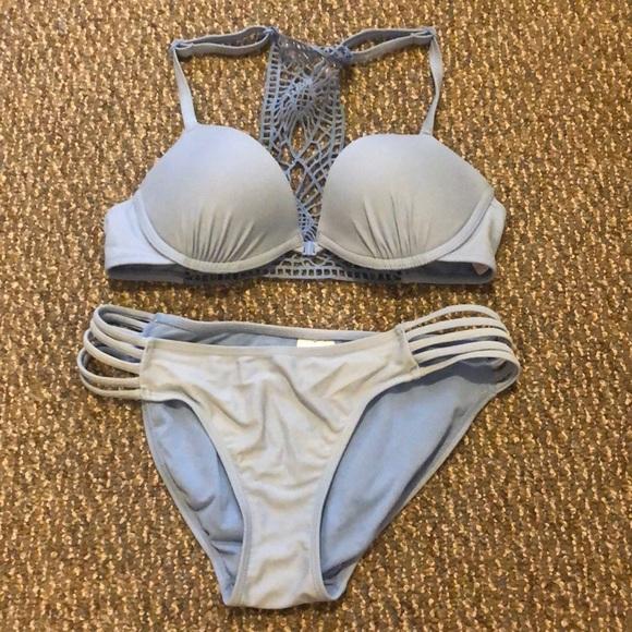 a4282559d13c8 Xhilaration Swim   Target Periwinkle Bikini Set   Poshmark